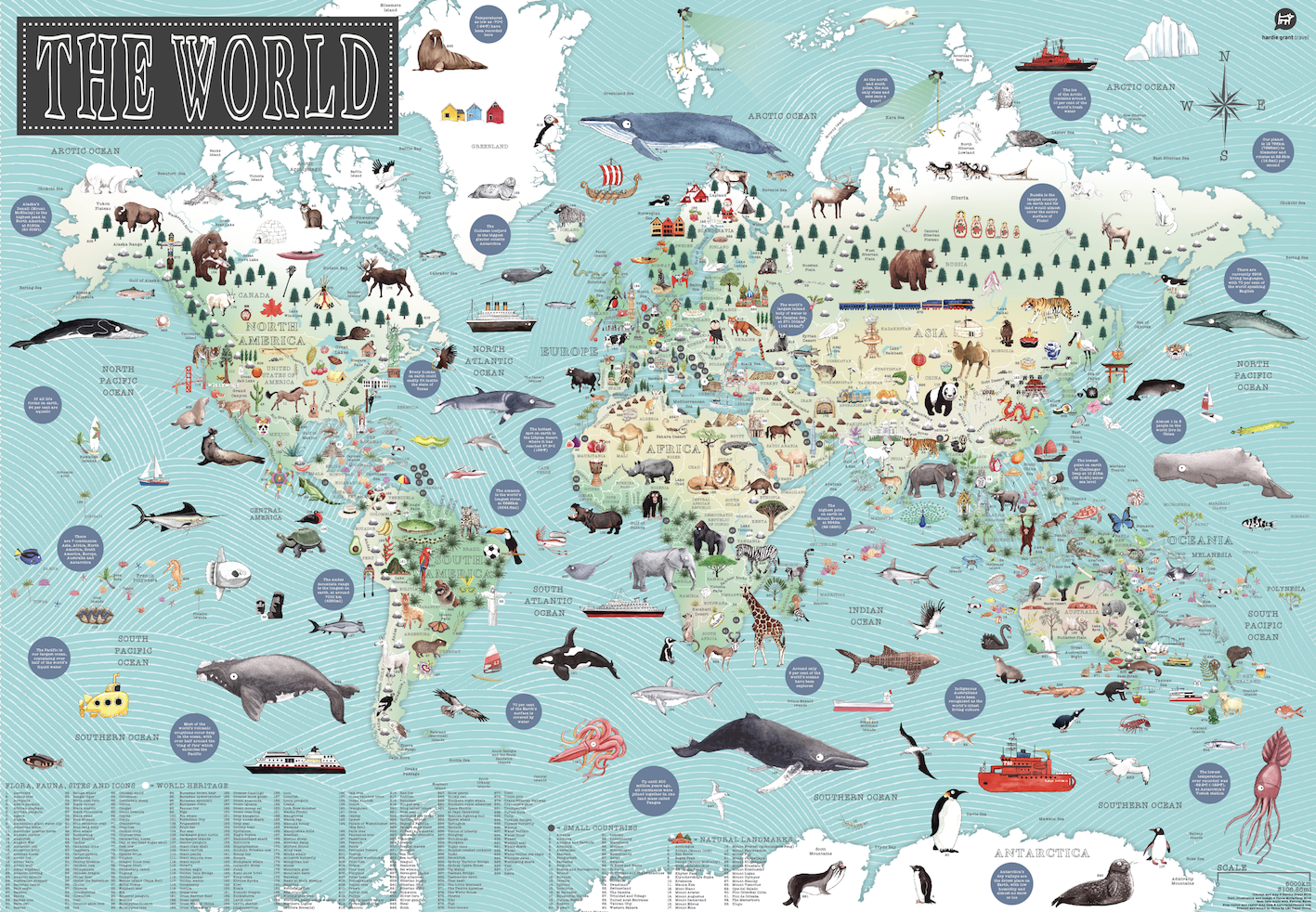 Kids book review following on from the amazing australia illustrated map tania mccartney has once again left kids adults families and classrooms drooling with the gumiabroncs Images