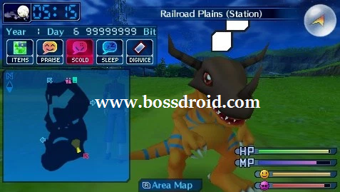Game PPSSPP PSP Digimon World Re Digitize ISO CSO Android