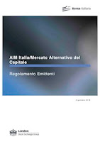 Issuers' regulation Aim italia