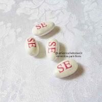 Venta almendras blancas  personalizadas con nombre chocolates mym personalizadas guatemala
