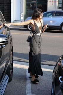 Eiza Gonzalez in Revealing Beautiful Gown Side    CEleBrity.co Exclusive 10