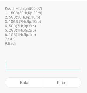 paket murah midnight telkomsel