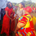 Kilifi Jubilee team to condole with Esther Kache in Kaloleni on her grandmother burial. Amina Mnyazi.