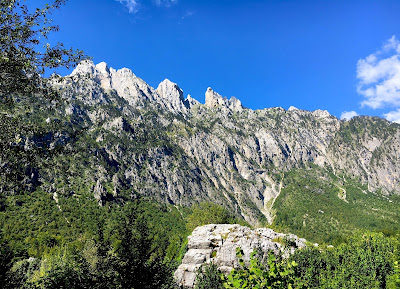Village de Valbona au nord de l'Albanie