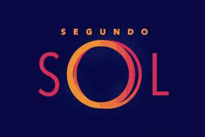 Imagem do logo da novela Sol Nascente