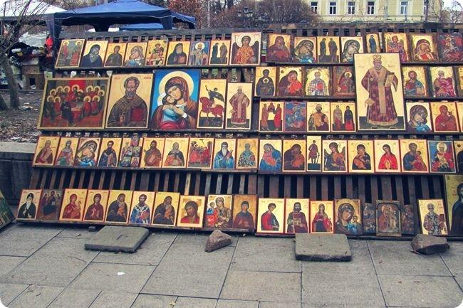 Drvene ikone za prodaju u Sofiji