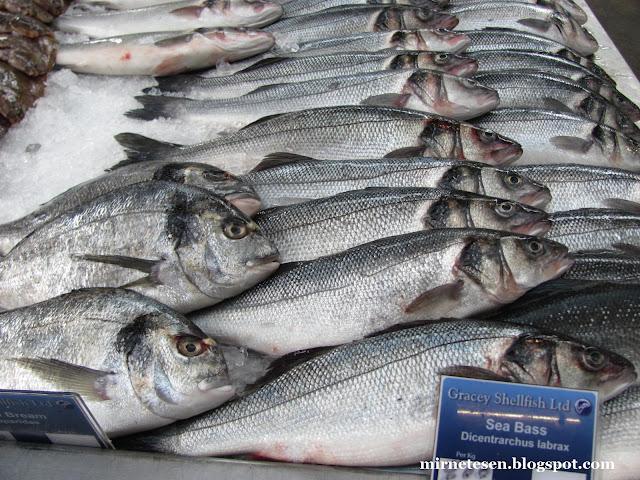 Рынок Сент-Джордж - свежая рыба
