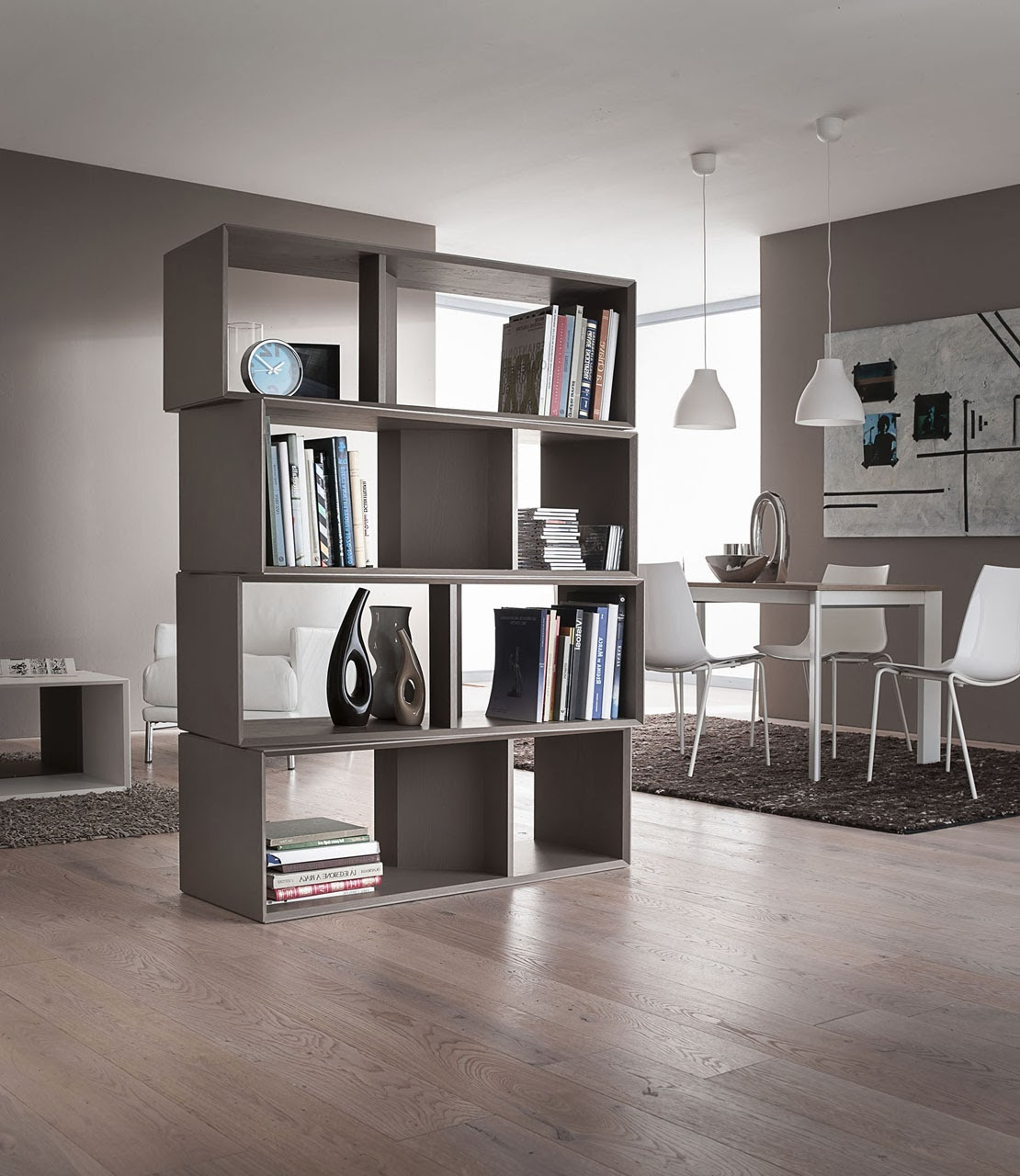 Libreria design tre proposte d 39 arredo blog outlet for Arredamento libreria design