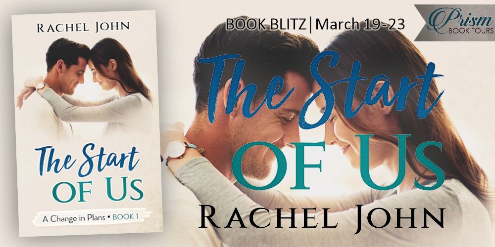 We're spreading the word about THE START OF US by RACHEL JOHN!