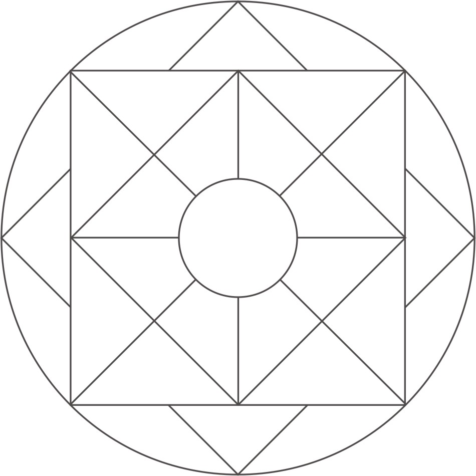 Simple Mandala Coloring Pages Kid