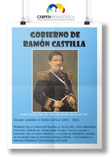 Segundo Gobierno de Ramón Castilla (1855 – 1862)