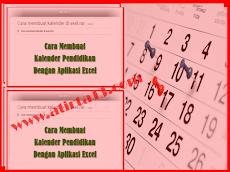 Download Cara Membuat Kalender Pendidikan Dengan Aplikasi Excel
