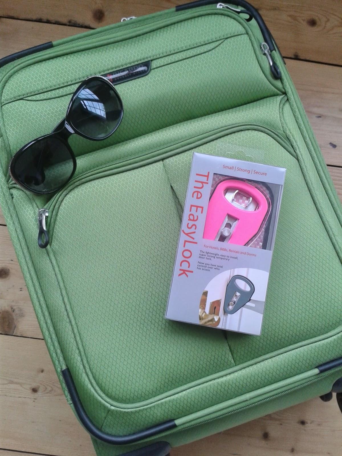 The Easy Lock portable door lock