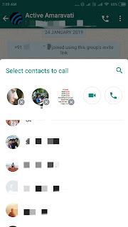 group calling whatsapp icon