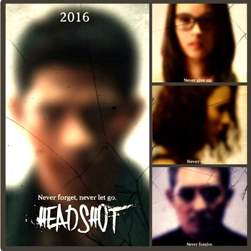 Headshot Poster Film