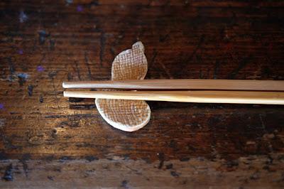 松本市四賀の古民家カフェ KAJIYA(カジヤ)ひょうたんの箸置き