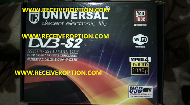 UNIVERSAL UE-90HD RECEIVER POWERVU KEY NEW SOFTWARE