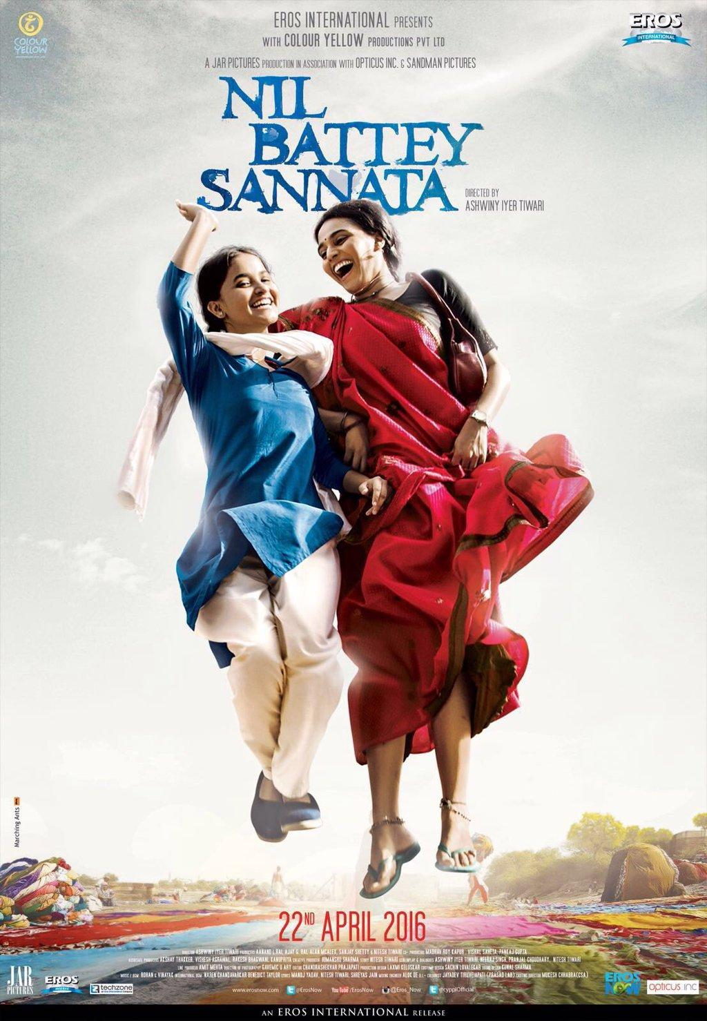 Watch Nil Battey Sannata (2016) DVDRip Hindi Full Movie Watch Online Free Download