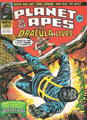 Marvel UK, Planet of the Apes #110, Battle for the Planet of the Apes