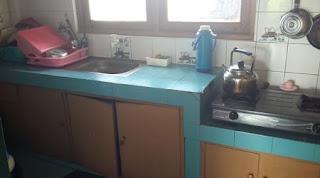 Dapur untuk memasak villa victor