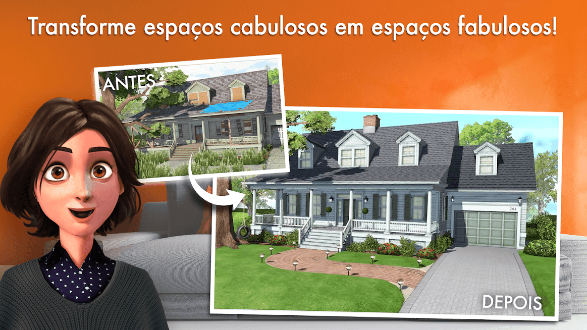 Baixar Home Design Makeover v 3.4.1g apk mod DIAMANTES INFINITOS