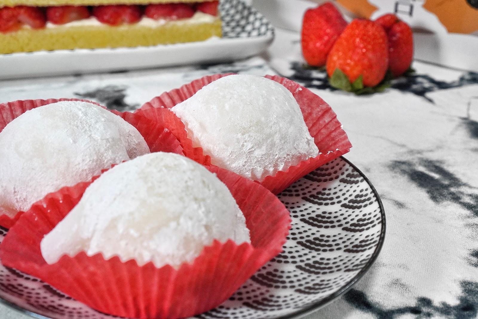 台南中西區美食【橘香合-蛋糕職人】草莓大福推薦