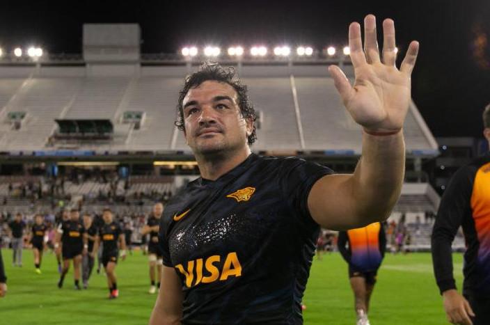 Agustín Creevy se despide de Jaguares para jugar en Inglaterra.