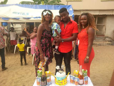 Fun And Excitement At Master Augustine Ezike's First Birthday Party (Photos)