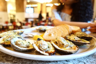 Royal Sonesta New Orleans, Grilled Oysters, Desire Oyster Bar