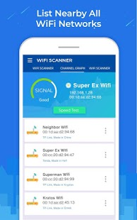 WiFi Scanner: Speed Tester, Signal Strength Meter v1.1.1 [Pro] APK