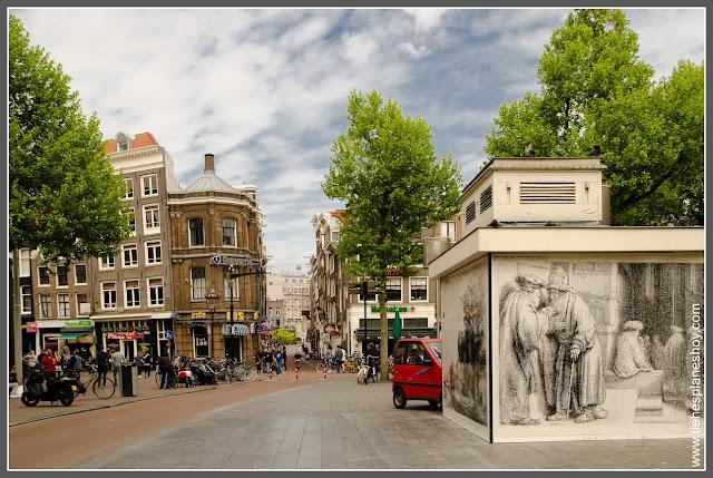Rembrandtplein Amsterdam (Países Bajos)