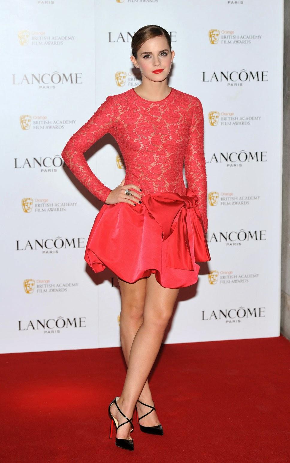 Emma Watson y sus mejores vestidos de fiesta