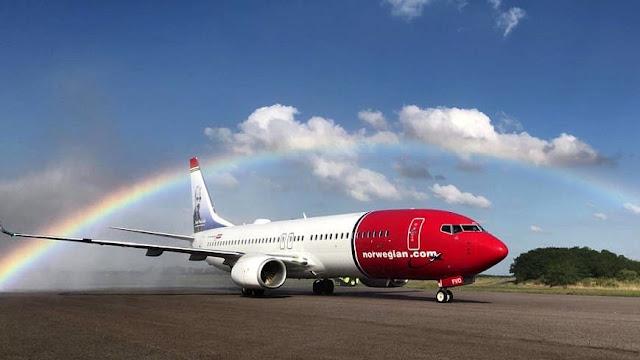 Norwegian comenzó a operar sus servicios regulares en Argentina con vuelos a Córdoba y Mendoza