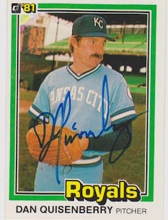 1981 Donruss, Dan Quisenberry