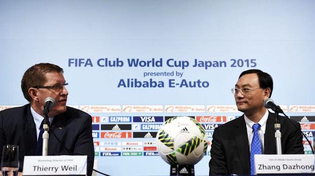 Alibaba quiere patrocinar la FIFA