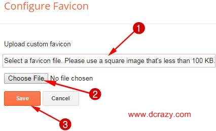 computer me se favicon file select kare