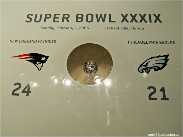 Anillo Super Bowl XXXIX
