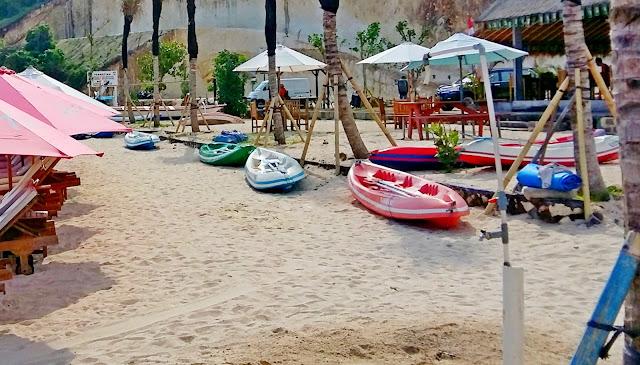 водные развлечения на пляже бали