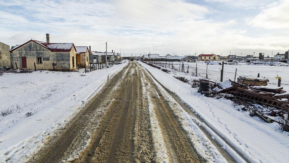 Tierra del Fuego registró una temperatura récord
