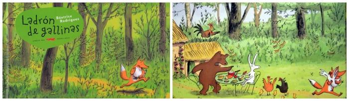 cuentos para enseñar valores niños: ladrón de gallinas, no prejuicio
