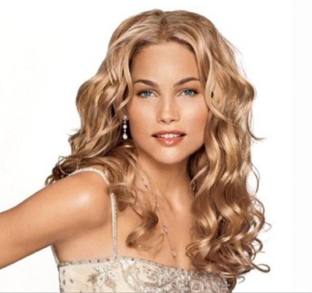 Wedding Hairstyles With Bangs For Long Hair: Long Curly Hairstyles With Bangs