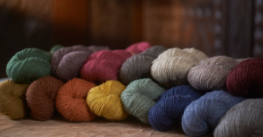 Samite Silk Blend - A New Yarn from Blacker Yarns