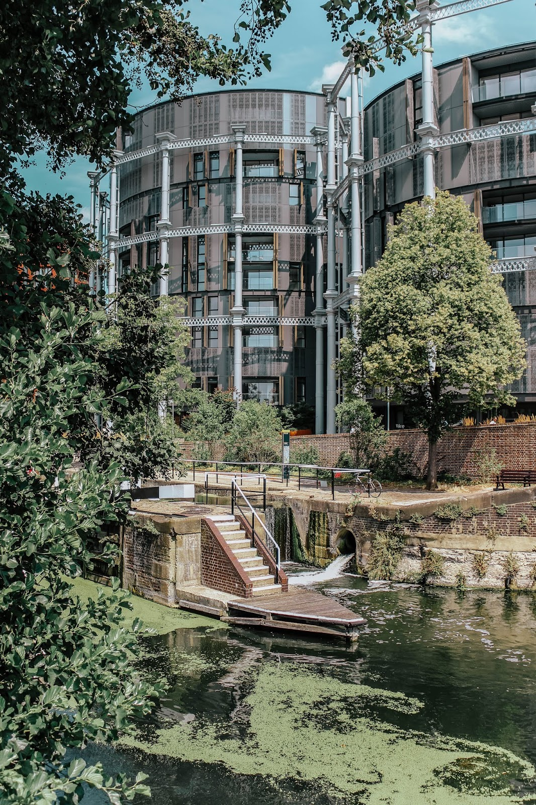 London Regent's Canal in Summer 2018