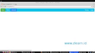 zlearn Membuat navigasi HTML 5 dan CSS3