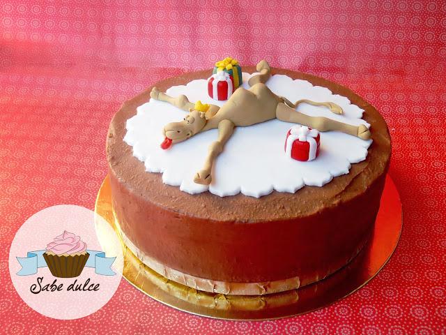 Tarta de chocolate y kitkat. Roscón de reyes