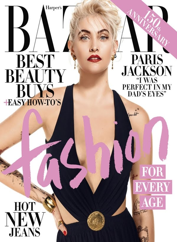 Paris Jackson On Bazaar