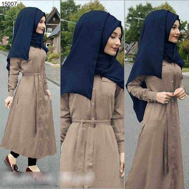 Jual Maxi Dress Arista Cotton Maxi Dress - 15007
