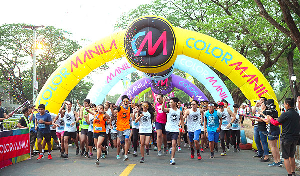 Color Manila Run 2017