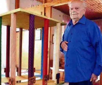 96χρονος Θεσπρωτός δημιουργεί έργα τέχνης!