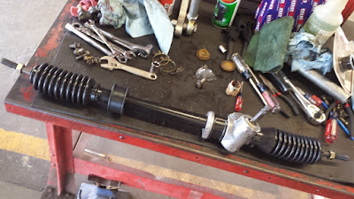 1st Generation Toyota MR2 Rack and Pinion Steering Rack